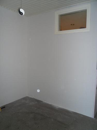 muur tussen hal en keuken