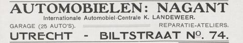 1908 Nagant De revue der sporten jrg 2, 1908, no 9, 18-09-1908