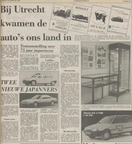 1987 utrecht AD