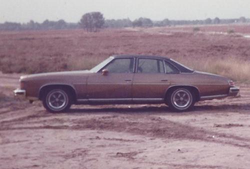 Pontiac op de Veluwe