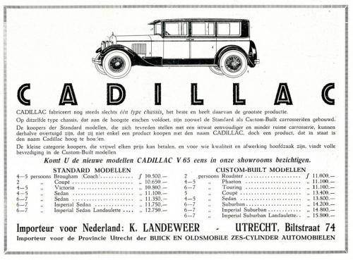 Cadillac   19251223 SIB